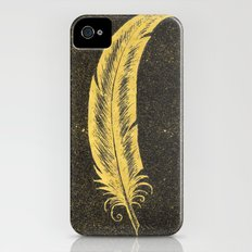 Yellow Feather Slim Case iPhone (4, 4s)