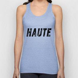 Haute (High) Unisex Tank Top