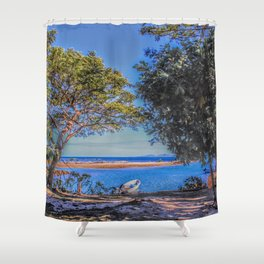 South Pacific Dream Shower Curtain