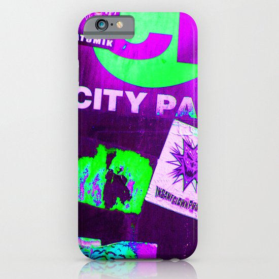 City Paper. iPhone & iPod Case