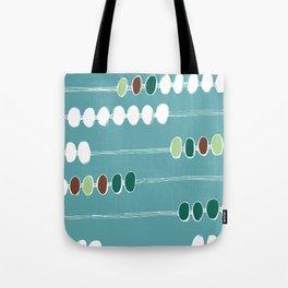 Abacus Blue Tote Bag