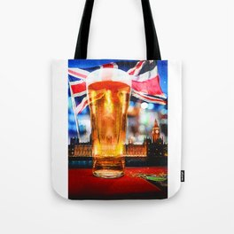 English Beer In A London Pub Tote Bag