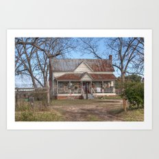 Rural Living Art Print