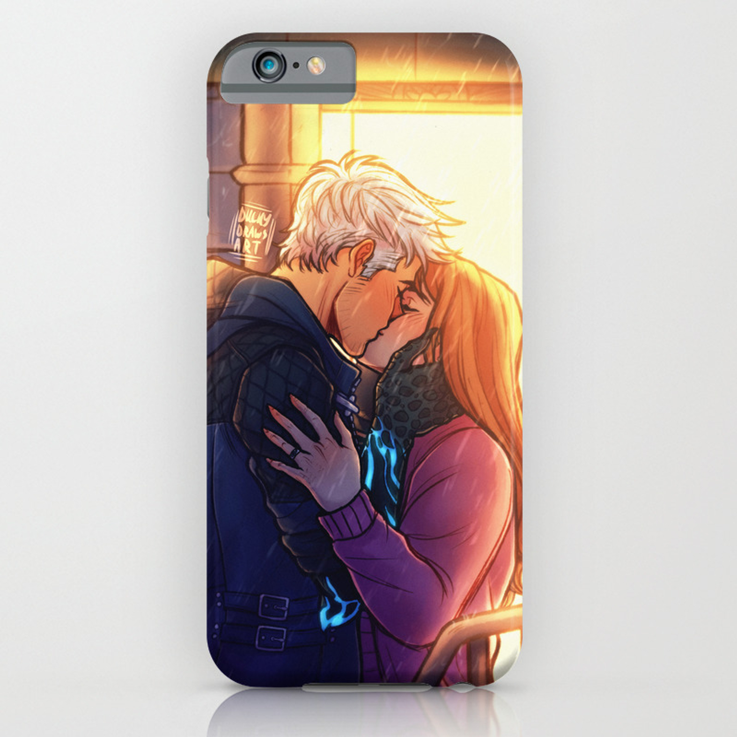 Goodbye Kiss | Nerokiri | DMC5 iPhone Case
