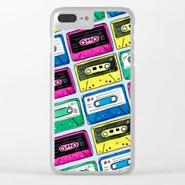 Cassettes Clear iPhone Case