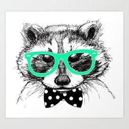funny animals Art Print