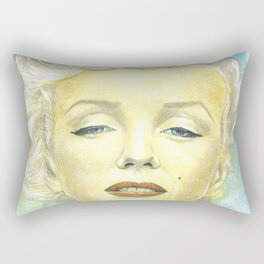 Marilyn Monroe comic book cover Rectangular Pillow