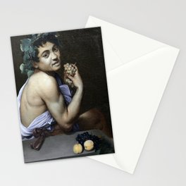 Merisi da Caravaggio - Young Sick Bacchus Stationery Cards