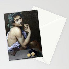 Merisi da Caravaggio - Young Sick Bacchus Stationery Cards