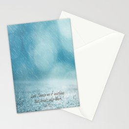 Cleanse me Psalm 139 Stationery Cards