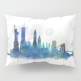 NY New York City Skyline Pillow Sham