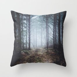 No more roads Throw Pillow