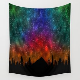 Mountains Stras Wall Tapestry