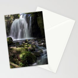 Waterfall at Lumsdale II Stationery Cards