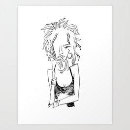 Ms. Lauryn Art Print