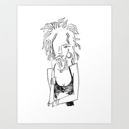 Ms. Lauryn Art Print