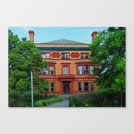 Old West End Edward Ford House Canvas Print