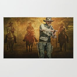 Gunfight at the OK Corral Rug