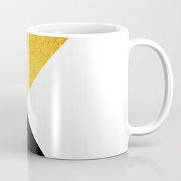 Gold & Black Geometry Coffee Mug