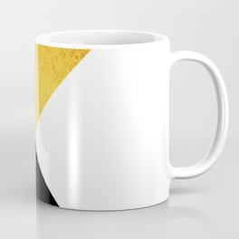 Gold & Black Geometry Coffee Mug