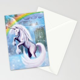 Unicorn and Sparkles - Day Stationery Cards