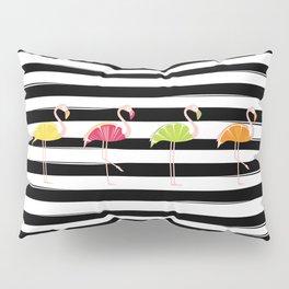 Citrus Flamingo Pillow Sham