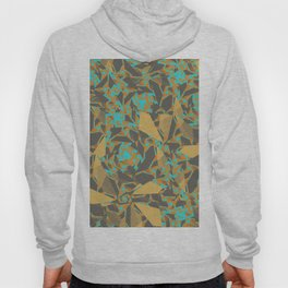 Blowing Leaves Abstract Hoody
