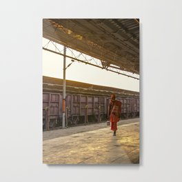 Sadhu India Metal Print