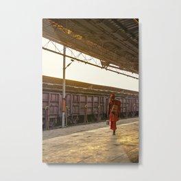 Sadhu India Metal Print