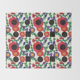Flower People Throw Blanket