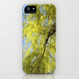 Whispering Willow iPhone Case