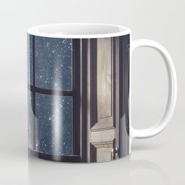 Space view Window-Moon shine Coffee Mug