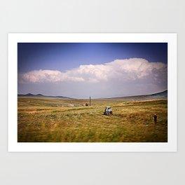 Armenia Art Print