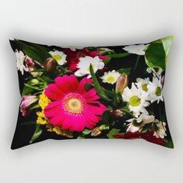 Spring Time Daisies Rectangular Pillow