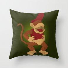 Diddy Kongami Throw Pillow
