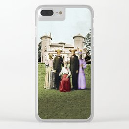 Cowtown Abbey Clear iPhone Case