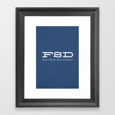 FSD Framed Art Print