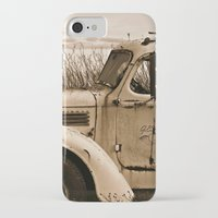 truck iPhone & iPod Cases featuring Vintage Truck by Urlaub Photography