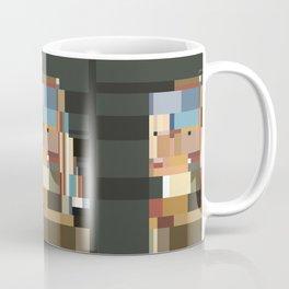 Girl with a Pearl Earring 1665 Coffee Mug