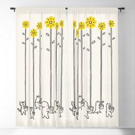 Seeds of hope Blackout Curtain