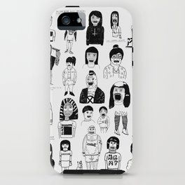PEEPZ iPhone Case