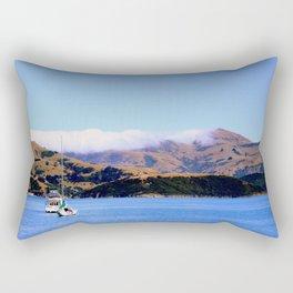 Akaroa Sailing Rectangular Pillow