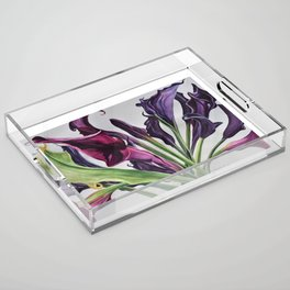Purple passion Acrylic Tray