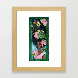 Goddess of Benevolence Framed Art Print