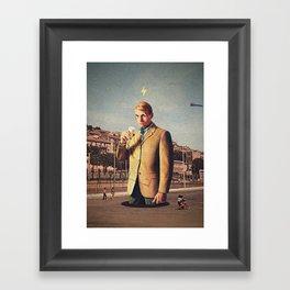 I See You | Collage Framed Art Print