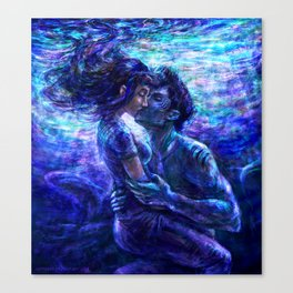 Out from the deep Canvas Print