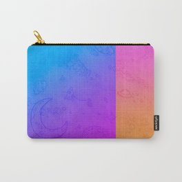 Space Cartoons Carry-All Pouch
