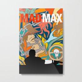 Max The Mad Man Metal Print