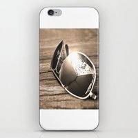 sunglasses iPhone & iPod Skins featuring Sunglasses by Cs025