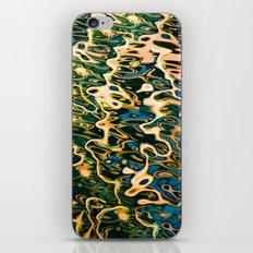 Water reflection iPhone & iPod Skin
